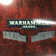 Ork dakkajet jet, burna blitza bommer wing flap extensions, warhammer 40k bits