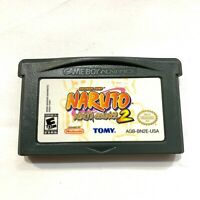 Naruto: Ninja Council 2 - Game Boy Advance GBA Game - Tested Working Authentic!