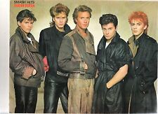 DURAN DURAN  'suede & leather' magazine PHOTO / Poster/Clipping 11x8 inches