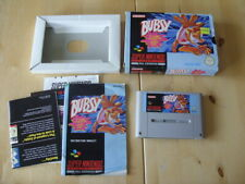 Super Nintendo / SNES - BUBSY In CLAWS ENCOUNTERS OF THE FURRED KIND - BOXED