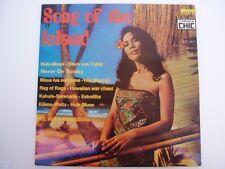 Hula Hawaiians - SONG OF THE ISLAND - RARE LP