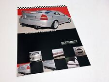 2000 Steinmetz Opel Astra Coupe CT/S Accessories Information Sheet Brochure