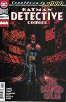 Batman Detective Comics Issue 999 Modern Age First Print 2019 Tomasi Mahnkje DC