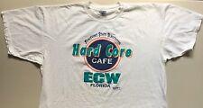 ECW Original HARDCORE CAFE FLORIDA Shirt 2XL XXL EXTREME CHAMPIONSHIP WRESTLING