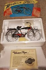 "1950 WESTERN FLYER CLASSIC SPRINGER DIE CAST MODEL 12"" BICYCLE"