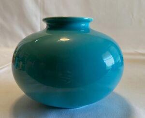Gladding McBean Franciscan El Pation Pottery Blue Vase
