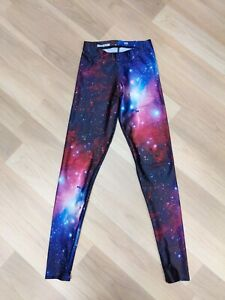 Black Milk Galaxy Leggings Sample Sale Size XS