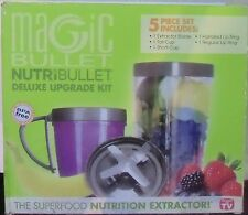 Magic Bullet Nutribullet Deluxe Upgrade kit 5 pieces Free Gift!!!!!