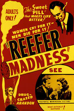 "Reefer Madness Movie Poster 24x36"" Print"