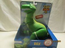 Toy Story 4 (Disney Pixar) Posable Rex Dinosaur Figure approx. 11in.