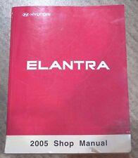 2005 HYUNDAI ELANTRA WORKSHOP SERVICE SHOP REPAIR MANUAL OEM BOOK