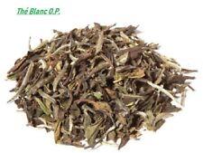 Thé Blanc Paï Mu Tan - O.P. -,  feuilles , 90 grammes  , infusion tisane