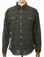 Brixton L/S Bowery Flannel Shirt - Ocean
