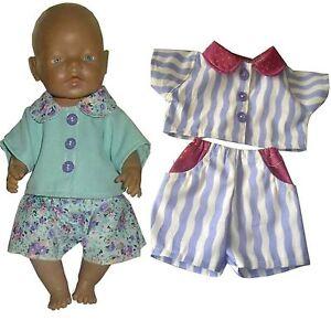 PK179 Puppenkleidung für Baby Puppen 43cm
