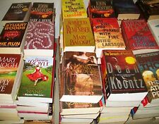 Lot of FICTION Paperbacks -  5 lbs FREE SHIPPING