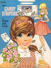 VINTAGE 1960S CANDY STRIPER PAPER DOLL HD LASER REPRO~LO PRICE~HI QUAL~TOP SEL