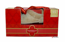 Charter Club Women's Slippers Light Brown Faux Fur Size Small 5-6 CC502 $30