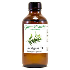 4 fl oz Eucalyptus Globulus Essential Oil (100% Pure & Natural) - GreenHealth