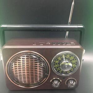 BLUETOOTH Tragbarer Lautsprecher Speaker Musikbox MP3 FM AM SW AUX USB TF New