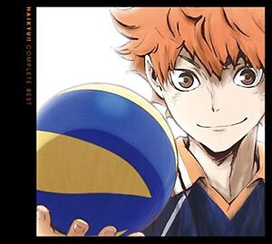 Used Haikyu COMPLETE BEST First Limited Edition CD DVD Japan 4547366296891