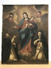 Huge 17th/18th Century Antique Oil painting on canvas Religious OLD MASTER