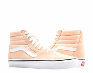 Vans Sk8-Hi Classic Bleached Apricot/White High Top Sneakers VN0A38GEU5Y