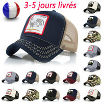 Casquette de baseball décontractée de chapeau extérieur réglable de sport Animal