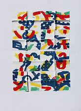 ANTONUICCI Pierre Sérigraphie et collage signé et numéroté