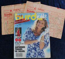 BURDA - Été 2/1989 - Complet des Patrons