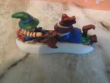 Dept 56 North Pole Series Check This Out Playing Checkers Accessory #56711