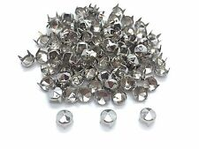 500pcs Fashion Punk Rivet Studs DIY Craft Spike Bag belt Silver Leather Craft