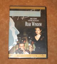 REAR WINDOW - DVD - JAMES STEWART - GRACE KELLY - ALFRED HITCHCOCK - SEALED