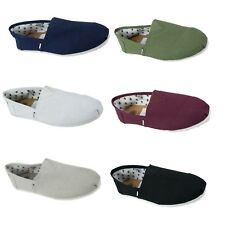 Mens Di Baggio Plain Summer Elasticated Slip On Espadrilles Plimsoll Pumps Shoes