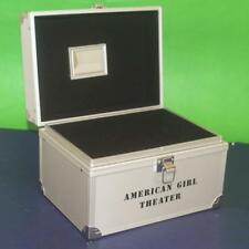 "American Girl 18"" Doll Marisol's Silver Theater Trunk Case Travel Box"