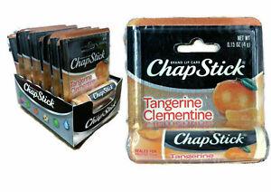 Chapstick Tangerine Clementine 0.15 oz - 12 Total Sticks
