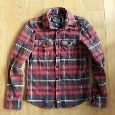 Superdry Hooded Check Casual Shirts & Tops for Men
