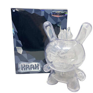 Kidrobot Krak Crystal Dunny 8 Inch Figure NEW IN STOCK