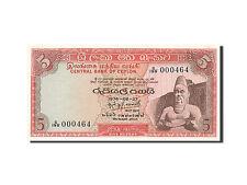 [#263187] Ceylon, 5 Rupees, 1969-1977, KM:73b, 1974-08-27, NEUF