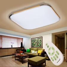 2600LM 36W Inalámbrico LED Techo Lámpara Luz Regulable Salón Comedor Remoto ES