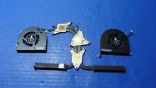 "MacBook Pro 17"" A1297 Mid 2009 MC226LL/A MC227LL/A OEM L&R Fan w/Heatsink GLP*"