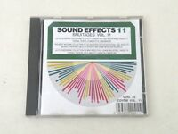 SOUND EFFECTS 11 - Bruitages Vol. 11 - CD MADE IN FRANCE - EX++/EX++