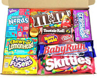 American Sweet Hamper Candy/Chocolate/Wonka/Nerds Christmas/Birthday Gift v2