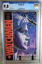 Watchmen #2 D.C. 1986 CGC 9.8 NM/MT White Pages Comic V0073