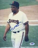 Willie Mays Psa/dna Signed Original Image 1/1 8x10 Photo Autograph