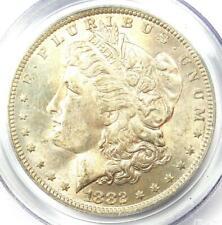 1882-O/S Strong Morgan Silver Dollar $1 - PCGS MS62 - Rare Variety BU UNC Coin!