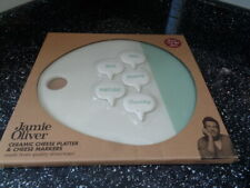JAMIE OLIVER JME CHEESE PLATTER & CHEESE MARKERS