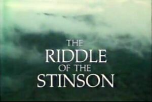 Riddle Of The Stinson - 1988 Stars Jack Thompson, Helen O'Connor (UK dvd disc)