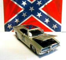 1/25 Scale SILVER Dukes of Hazzard General Lee Diecast '69 Dodge Charger Car