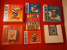 4-in-1 Fun Pak Volume 1 & 2 Nintendo Game Boy COMPLETE w Box manual game I an II