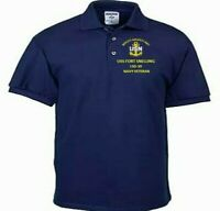 USS FORT SNELLING  LSD-30 LANDING DOCK NAVY EMBROIDERED LIGHT WEIGHT POLO SHIRT